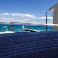 Отель Adriana Studios Пефкохори бассейн
