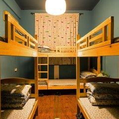 Chengdu Steam Hostel Кровать в общем номере с двухъярусной кроватью фото 2