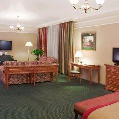 Гостиница Марриотт Москва Гранд 5* Люкс-студио с различными типами кроватей фото 6