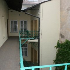 Апартаменты Apartment Stare Mesto Anenska балкон