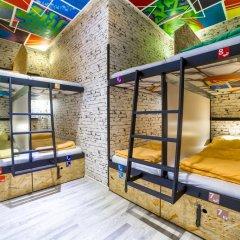 Chillout Hostel Zagreb Кровать в общем номере с двухъярусной кроватью фото 19