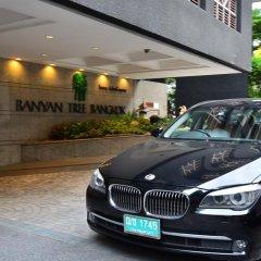 Отель Banyan Tree Bangkok Бангкок парковка
