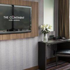 Отель The Continent Bangkok by Compass Hospitality 4* Номер категории Премиум с различными типами кроватей фото 37