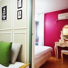 Отель Han River Guesthouse 2* Студия с различными типами кроватей фото 7