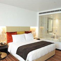 Отель Crowne Plaza Abu Dhabi Yas Island 4* Улучшенный номер с различными типами кроватей фото 2