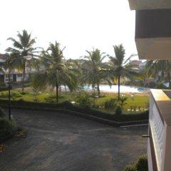 Апартаменты Lotus Benaulim - Beach Apartment Гоа балкон