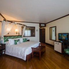 Отель InterContinental Resort Tahiti 4* Улучшенный номер с различными типами кроватей