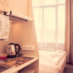 Ахаус-отель на Нахимовском проспекте Студия с двуспальной кроватью фото 15