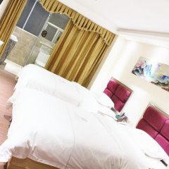 Отель Fangjie Yindu Inn 3* Стандартный номер с 2 отдельными кроватями фото 4