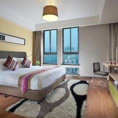 Отель Citadines Xingqing Palace Xi'an 4* Улучшенные апартаменты с различными типами кроватей фото 8