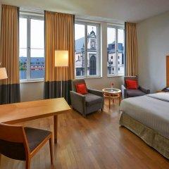 Отель Hilton Cologne 4* Номер Делюкс разные типы кроватей фото 10