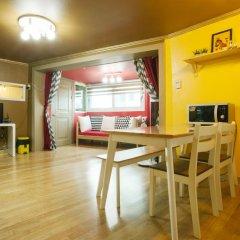 Отель Han River Guesthouse 2* Семейная студия с двуспальной кроватью фото 20