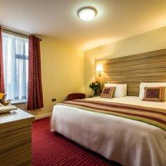 Отель Holiday Inn London - Kensington 4* Улучшенный номер с различными типами кроватей фото 6