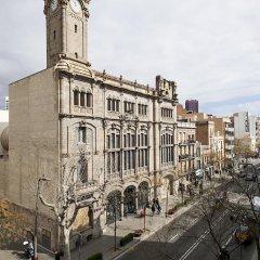 Отель Habitat Apartments Plaza España Испания, Барселона - отзывы, цены и фото номеров - забронировать отель Habitat Apartments Plaza España онлайн балкон