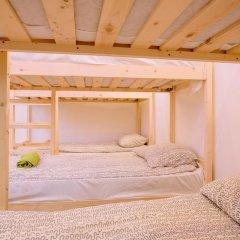 Bm Hostel Arbat Кровать в общем номере двухъярусные кровати