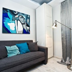 Гостиница Design Suites Kievskaya комната для гостей