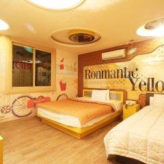 Haeundae Grimm Hotel 2* Номер Делюкс с различными типами кроватей фото 5