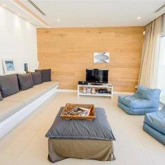 Отель Oceanview Villa 100 Кипр, Протарас - отзывы, цены и фото номеров - забронировать отель Oceanview Villa 100 онлайн комната для гостей фото 4