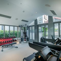 Отель M Social Singapore фитнесс-зал