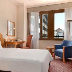 Отель Hilton Milan 4* Стандартный номер с различными типами кроватей фото 12