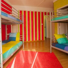 Отель Ericeira Surf Camp 2* Кровать в общем номере двухъярусные кровати фото 11
