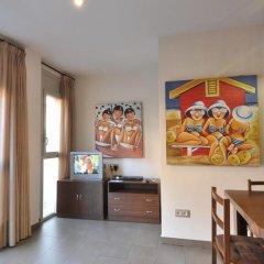 Апартаменты RNET Apartments Roses Centre Курорт Росес удобства в номере