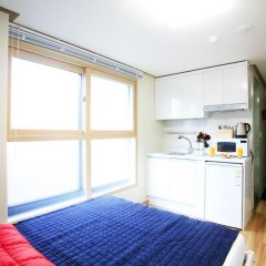 Hostel KW Gangnam Стандартный номер с различными типами кроватей фото 5