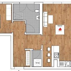 Отель Leipzig Apartmenthaus сауна