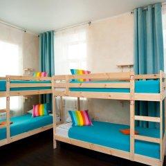 Europa Hostel Кровать в общем номере с двухъярусной кроватью фото 5