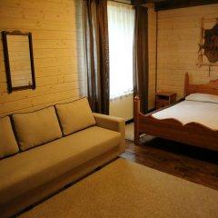 Гостиница Лесная Усадьба Стандартный номер двуспальная кровать фото 7