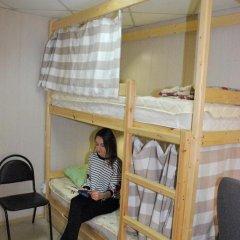 Хостел на Гуртьева Кровать в женском общем номере с двухъярусной кроватью фото 10