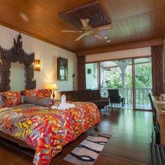 Отель Tropica Bungalow Resort комната для гостей фото 4