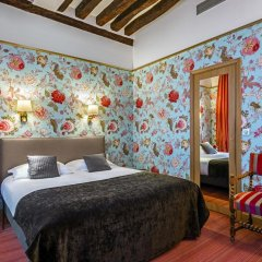 Отель Hôtel Saint Paul Rive Gauche 4* Улучшенный номер с различными типами кроватей фото 10