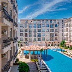 Отель Aparthotel Dawn Park Болгария, Солнечный берег - отзывы, цены и фото номеров - забронировать отель Aparthotel Dawn Park онлайн бассейн фото 3