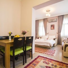 Апартаменты Feyza Apartments Семейные апартаменты с двуспальной кроватью фото 29