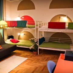 Hostel Budapest Center Стандартный номер с различными типами кроватей фото 9