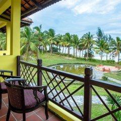 Отель Agribank Hoi An Beach Resort 3* Номер Делюкс с различными типами кроватей фото 5