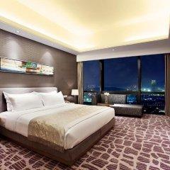 Huaqiang Plaza Hotel Shenzhen 4* Представительский люкс с различными типами кроватей фото 6