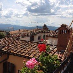 Отель Tetti Rossi Реггелло балкон