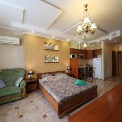 Гостиница Май Стэй Улучшенная студия разные типы кроватей фото 5