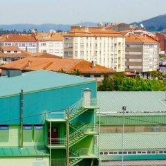 Отель Albergue Pension Flavia Падрон спортивное сооружение