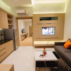 Platinum Hotel 3* Улучшенные апартаменты разные типы кроватей фото 4