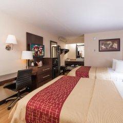 Отель Red Roof Inn PLUS+ Columbus-Ohio State University OSU 2* Номер Делюкс с различными типами кроватей фото 2