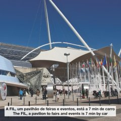 Апартаменты Apt In Lisbon Rio Apartments - Parque das Nações спортивное сооружение