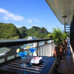 Отель Bai Tho Deluxe Junks балкон