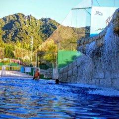 Отель Camping Iratxe Ciudad de Vacaciones бассейн
