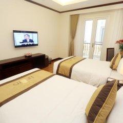 Lenid Hotel Tho Nhuom 3* Номер Делюкс с различными типами кроватей фото 4