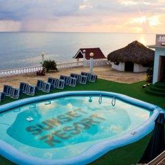 Отель Sunset Resort Треже-Бич бассейн фото 2