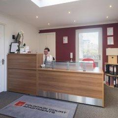 Отель Fountain Court Apartments - EQ2 Великобритания, Эдинбург - отзывы, цены и фото номеров - забронировать отель Fountain Court Apartments - EQ2 онлайн интерьер отеля