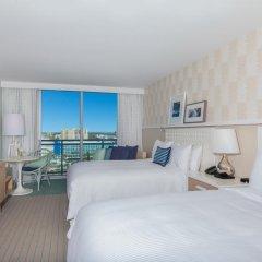 Отель Wyndham Grand Clearwater Beach 4* Номер Делюкс с двуспальной кроватью фото 6